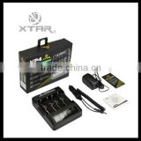 charger for samsung 18650 battery Xtar vp4 portable charger MC1/MC2/Xtar VC2/VC4/ VP2/xtar vp4