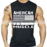 Men's Cotton Workout Tanktops Gym Singlets, Quickly Dry Sport Vest For Men