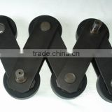 Escalator Step Chain, Pitch Line 133.33, Diameter of Roller 70mm, Link WidthX Thickness 40x5, Diameter of Pin 14.63mm