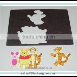 Die cut catoon magnetic fridge stickers non-toxic