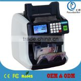 Professional 1+1 Pocket Banknote Sorter/Money Discriminator/Newst Two Pockets Currency Sorting Machine/CIS Cash Counter