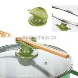 ABS 5.2*3.6 leaf:6.4*4 Good quality plastic pot parts cookware handle and knob/cookware lid knob/kitchen knob