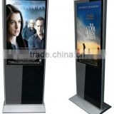 47 inch touch screen monitor floor stand display frame kiosk lcd monitor all in one touch computer advertising sign
