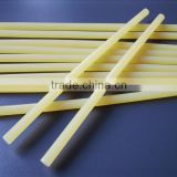 transparent and white, hot melt glue adhesive,glue sticks, light yellow,white and transparent,yellow glue sticks