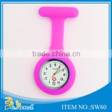 OEM promotional commercial cheap brooch high quality nurse watch