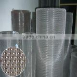 stainless steel fine mesh screen/ stainless steel wire mesh window screen made in china with free samples