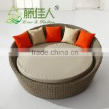 New Outdoor Wicker Rattan Day Bed Sun Lounge Pool Decking Rattan Furniture