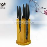 High quality Kitchen Knife Set with bamboo stand