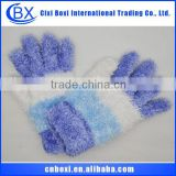 Brand New Acrylic/Cony Hair/Microfiber/Feather Kids Gloves,Fashion Wholesale Kids Gloves