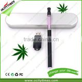 New Style cbd oil ecigarette button battery Smooth Feeling evod vaporizer Unique Design battery operated vaporizer