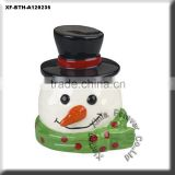 unpainted biscuit snowman kitchen soap dish scrubby holder