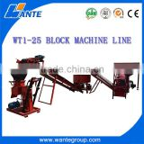 Manual soil clay <b>interlocking</b> WT1-25 <b>brick</b> making <b>machine</b> <b>factory</b> price for sale