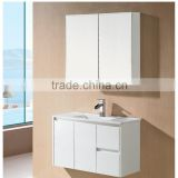 E1 Particleboard / Plywood / MDF 60 inch white bathroom vanity