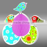 Solid Color Tissue Honeycomb Paper Baby Easter Garden Party Hanging Decoration                                                                         Quality Choice