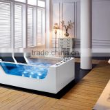 2015 New design indoor portable double massage bathtub