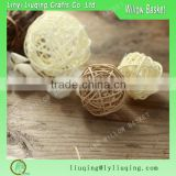 Decorating christmas big balls/Wicker Willow ball