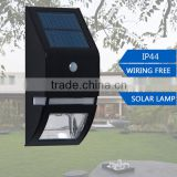 high quality IP65 85-256V Solar Power Fence Post Cap led Garden light outdoor Warm White