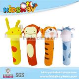 2015 baby toys china soft baby plush toy wholesale baby rattles