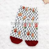 Ultrathin baby socks anti-slid cozy floor socks pure cotton socks with cute cartoon pattern