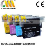 Hot Sell New compatible ink cartridges for Brother LC-11/16/38/61/65/67/980/990/1100 BK/C/M/Y