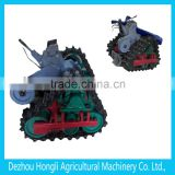 Supply all kinds of crawler, track, crawler track, crawler chassis, for tractors, cultivators