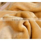 Solid color mink blanket , mink blanket in Dubai, brown color mink blanket , golden color mink blanket, polyester mink blanket,