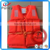 High Quality Implement GB4304-84 Standard Polyethylene Life Jacket With 4 Pieces Life Jacket Light