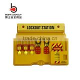 2016 Cheap PC material advanced tagout lockout station
