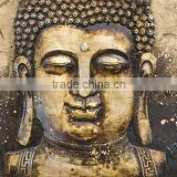 3D Design buddha painting,buddha oil painting on canvas