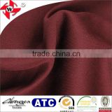 very cheap 100%polyester weft knit fabric embossed for laptop bag, handbag, suitcase surface, etc