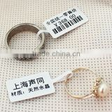 high quality jewelry barcode RFID labels/jewelry price tags                                                                         Quality Choice