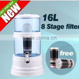 8 Stage Water Filter Top Ceramic Carbon Mineral Dispenser Purify Purifier Bottle                                                                         Quality Choice