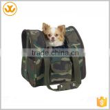 Camouflage Dog Backpack With Handles / Backpack Dog Carrier                                                                         Quality Choice