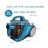 2L Dust cup type Household vacuum cleaner 110v or 220v Hand held vacuum cleaner Ultra Quiet Vacuum cleaner