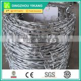 electric barbed wire manufacture PVC coated barbed wire factory stainless steel barbed wire