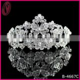 Beautiful Diamond Butterfly Crown Hair Accessories Bridal Tiaras