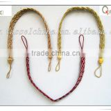 Best sell decorative curtain rope tie back, QIANXI CR003