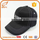 Custom jean american baseball cap flat embroidery machine for baseball cap
