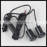 drilling led ghost shadow light laser projector lights led car logo wireless courtesy door light for hyundai elantra