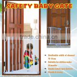 2015 SG03 baby safety gate with double lock and extra extension pass 2n1930 fit for eu marketing.