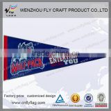 New design felt pennants wholesale football club pennant