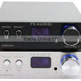 FX Audio D802C 80WPC Pure Digital Amplifier Wireless Bluetooth USB/AUX/Optical/Coaxial Digital Amplifier