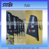 display outdoor l banner stand
