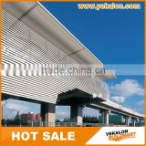 China Top Manufacturer Curtain Wall System Automatic Sun Shade Aluminium Metal Louver Window Aluminium Profile