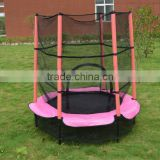 4.5FT mini 55inches bungee trampoline bed,fitness equipment for kid and adult