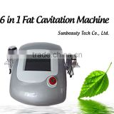 Body Slimming Machine Best Ultrasonic Non Surgical Ultrasonic Liposuction Machine 6in1 Fat Cavitation Machine/IPL+RF+Ultrasonic