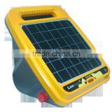 solar electric fence energizer of electric fence systems