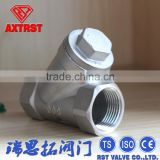 Stainless Steel Female Y Strainer for One-way Flow Pipeline