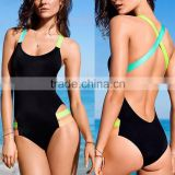 new Europe and the United States 2016 conjoined bikini fashion sexy conjoined bind female swimsuit