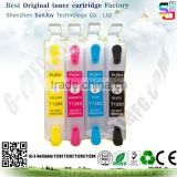 Refilable ink cartridge T1281 T1282 T1283 T1284 for Epson S12/22/SX120/125/420S/525/BX305/325/525/526